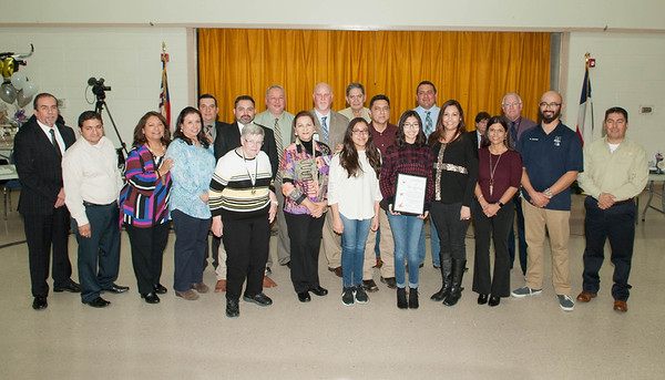Board Recognition  Jan. 2017