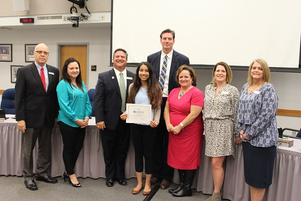 10-20-16 Board Recognition Photos