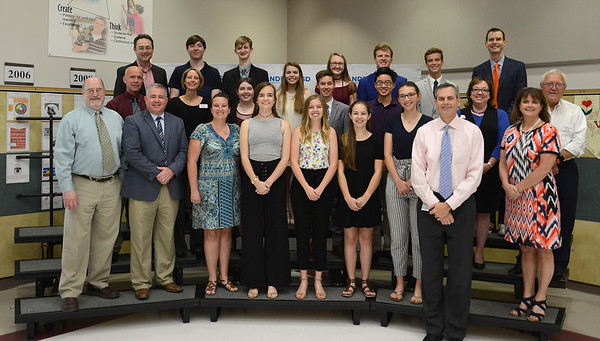 Vista Ridge High School band, recognized for being awarded the Sudler Shield by the John Philip Sousa Foundation. This is an international award given to bands of world-class excellence. Representives of the band included Kyle Ma, Sydney Worsham, Matthew Jenkins, Addison Schievelbein, Logan Myers, Cameron Palodino, Chloe Fritsche, Alice Palmiere, Abigail Jablon, Alli Bellows, Matthew Jagen, Paige Runkel, Aubrey Ruschhaupt, Andrew Chase and Carrington Patrick. The VRHS band is led by Director Bryan Christian.