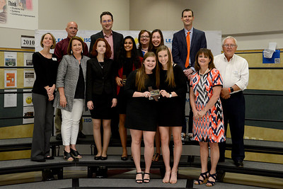Students from Glenn, Rouse and Vandegrift high schools, recognized for exceeding at the state level of FCCLA. Students recognized included Brianna Ramsey of GHS; Katy Goertz and Rayla Lott of RHS; and Harshita Avirneni, Camille Digiamo, Tate Watson and Brandi Killingsworth of VHS. These students will go on to compete at the national competition in June in Atlanta.