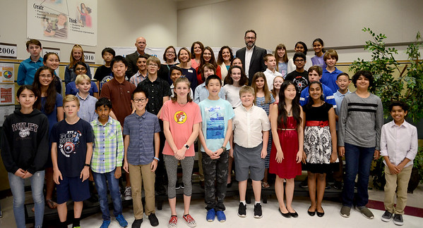 An impressive 75 LISD seventh-graders  received state recognition by scoring in the top 35 percent after taking college entrance SAT or ACT exams as part of the 2018–19 Duke Talent Indentification Program.