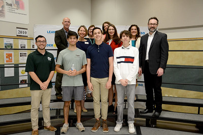 Cedar Park High School's boardcast journalism students, led by instructor Anthony Garcia. CPHS sophomore Victor Martinez won silver in UIL Film Narrative.