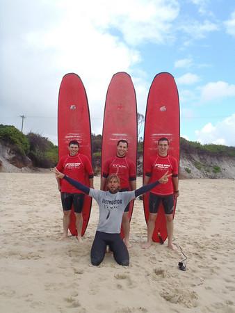 Surfing Byron
