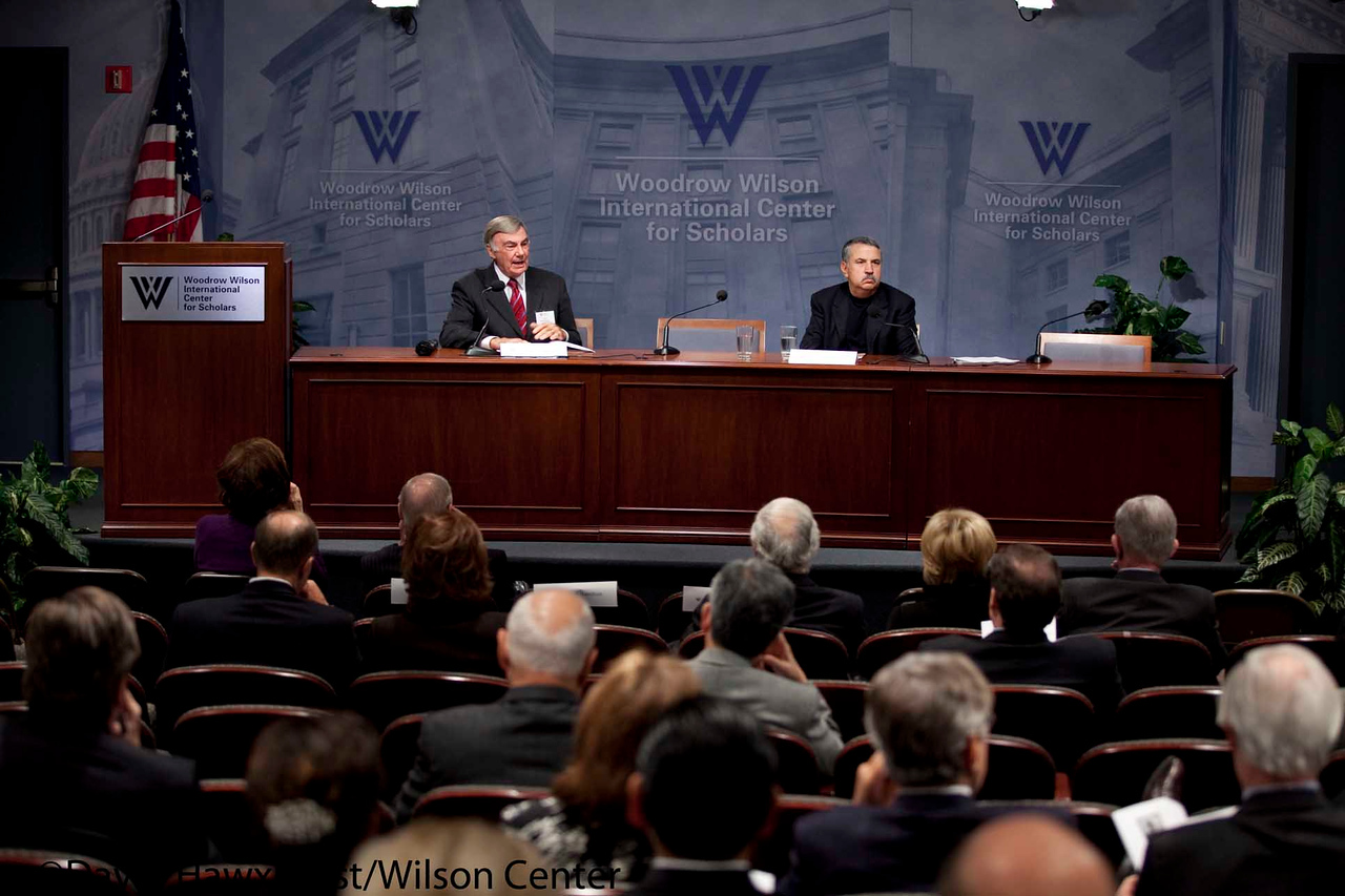 A Day at the Wilson Center<br /> <br /> Speaker(s): Thomas Friedman, Sam Donaldson, Stapleton Roy