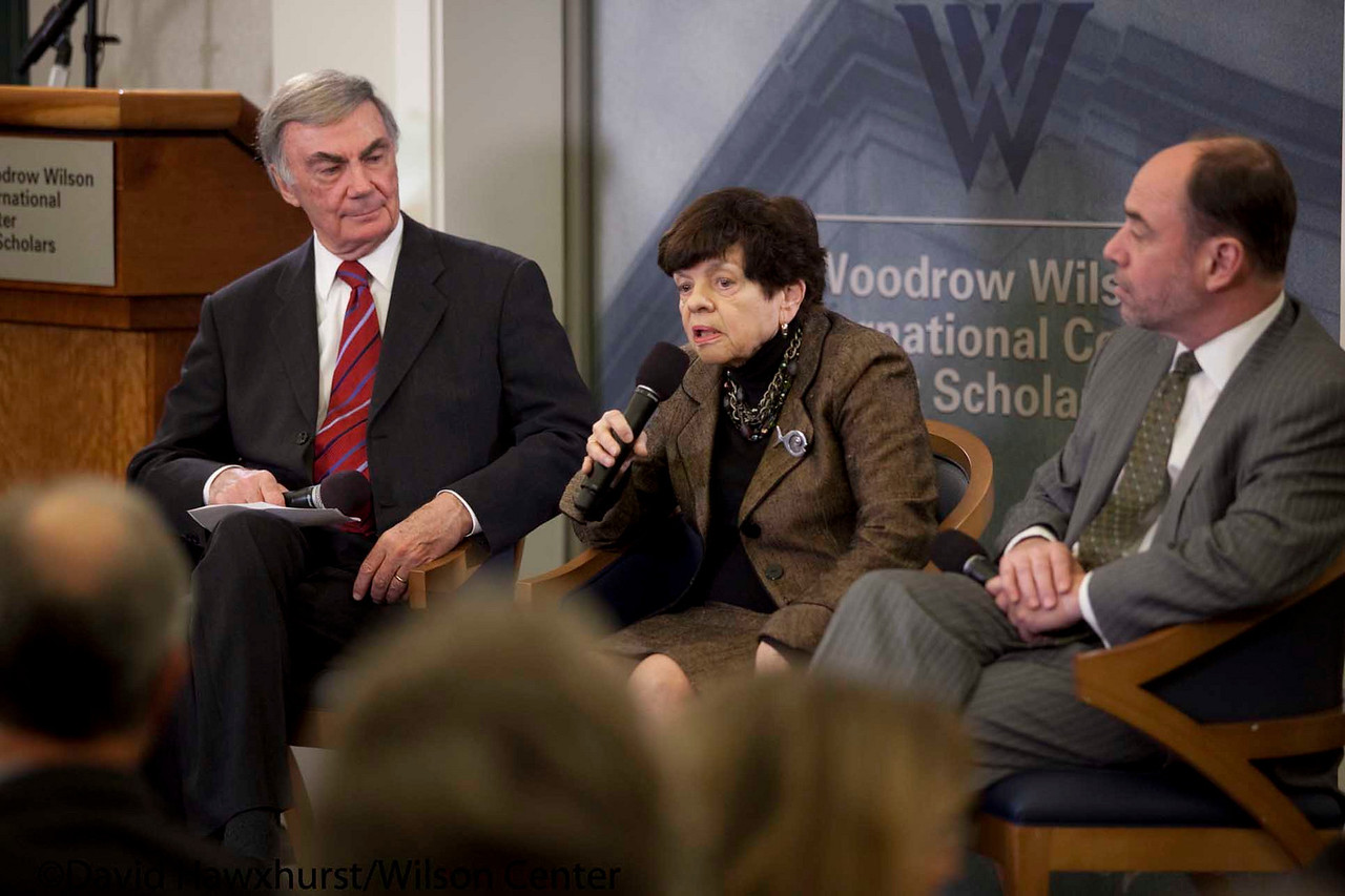 A Day at the Wilson Center Dinner: Fiscal and Monetary Policy Challenges & Opportunities<br /> <br /> Speaker(s): Sam Donaldson, Douglas Holtz-Eakin, Alice Rivlin