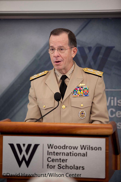 A Day at the Wilson Center : Transitions from Autocracy: The Middle East, Russia, Latin America and Africa and Europe at a Crossroads: The Debt Crisis, Terrorism and the Rise of the Rest<br /> Board and Council meeting <br /> Lee Hamilton Lecture Series<br /> <br /> Speaker(s): Admiral Michael G. Mullen