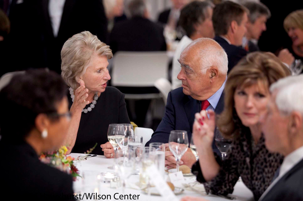 DAy at the Wilson Center<br /> Dinner as the Swiss Embassy<br /> His Excellency Manuel Sager and Mrs. (Christine) Sager<br /> <br /> Senator Bob Corker (R-TN)