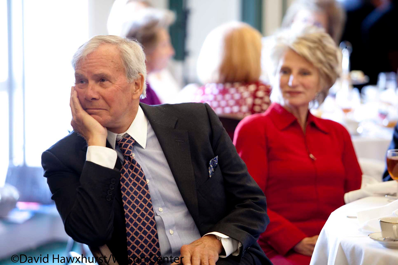 A Day at the Wilson Center-Lunch and Hamilton Lecture Series Remarks<br /> <br /> Speaker(s): Tom Brokaw, Sam Donaldson