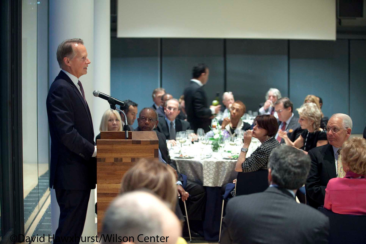 Day at the Wilson Center: Dinner at the Finnish Embassy