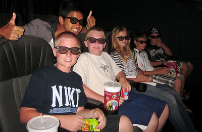 Watching the Lion King in 3d