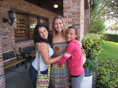 Residential Life Assistant, Miss Jessica, took two Middle School boarders out to dinner at Carraba's