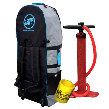 Boardworks Muse XL Rolling Travel Back Pack Carry Bag