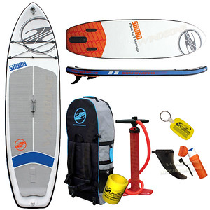 Boardworks SHUBU Mod Inflatable SUP 10-6 Stand Up Paddle Board