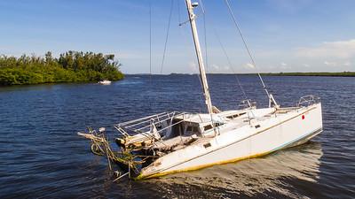 Sunken Catamaran - July 2018-144