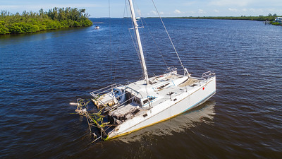 Sunken Catamaran - July 2018-146