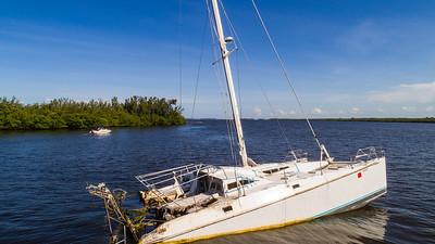 Sunken Catamaran - July 2018-139