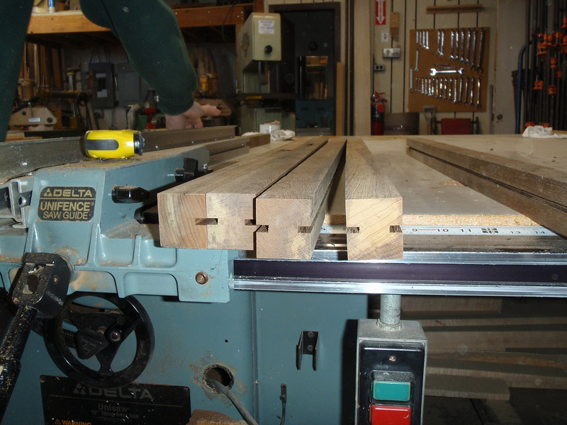 Jeff and Pete will add some rigid material into the grooves to lock together the pieces and keep them from warping.