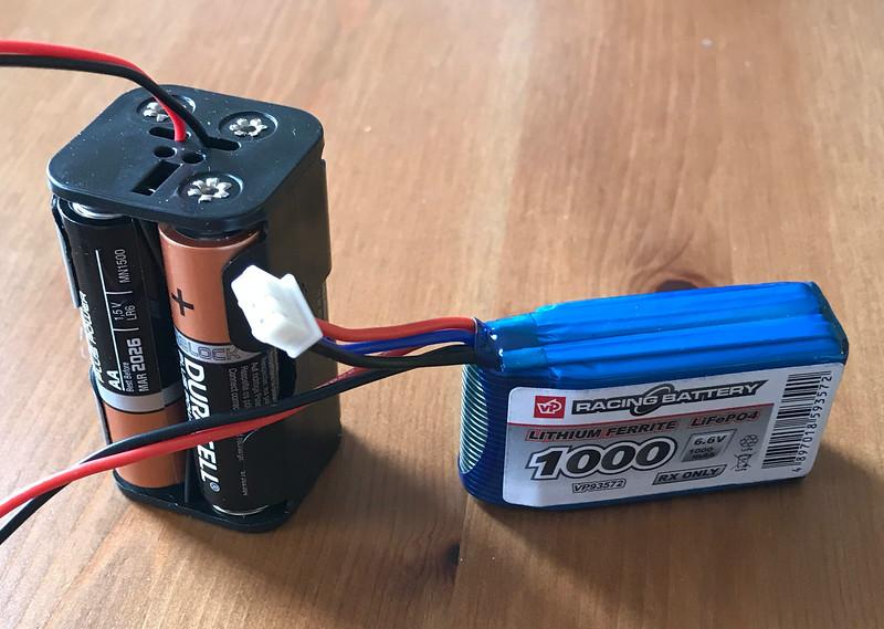 Dragonforce 65 V6 battery options