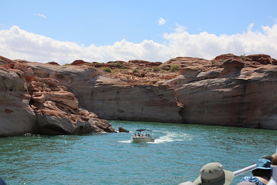 Boat ride on Lake Powell