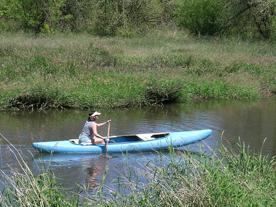 Canoeing Salmon Creek - June 13, 2008