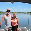 Our guests for the day, next door neighbors Phil and Pam Corbin.