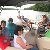 Our church small group got out on the lake, Saturday, June 29