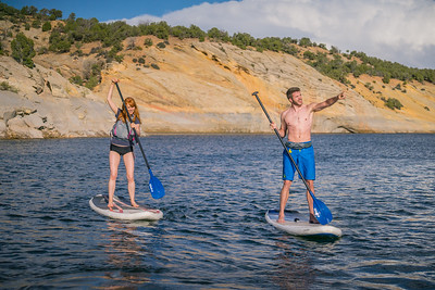 Boating - Paddle board, Red Fleet State Park