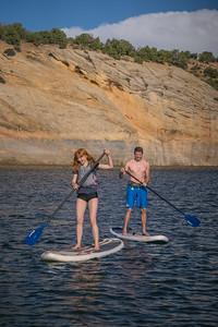 Boating - paddle boarding