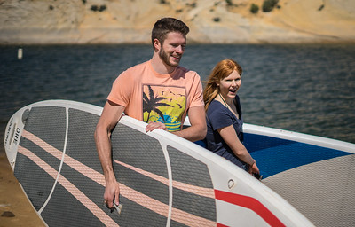 Boating - paddle board