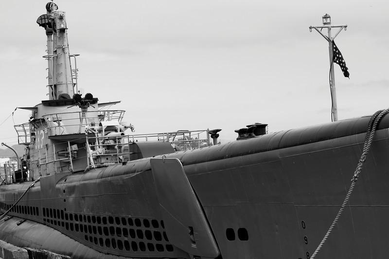 USS Pampanito (SS-383) WWII Balao Class Fleet Submarine