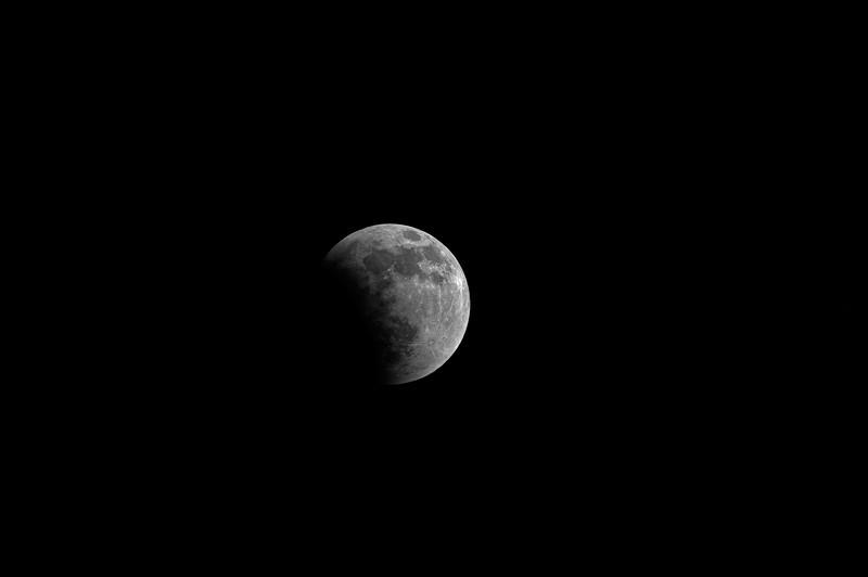 Moon During Total Lunar Eclipse  Prescott