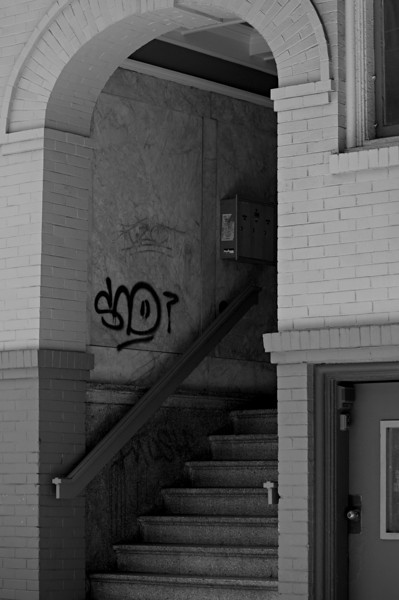 Stairs & Graffiti