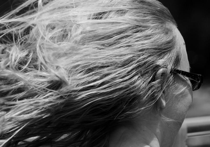 Hair Dance over the Golden Gate Bridge