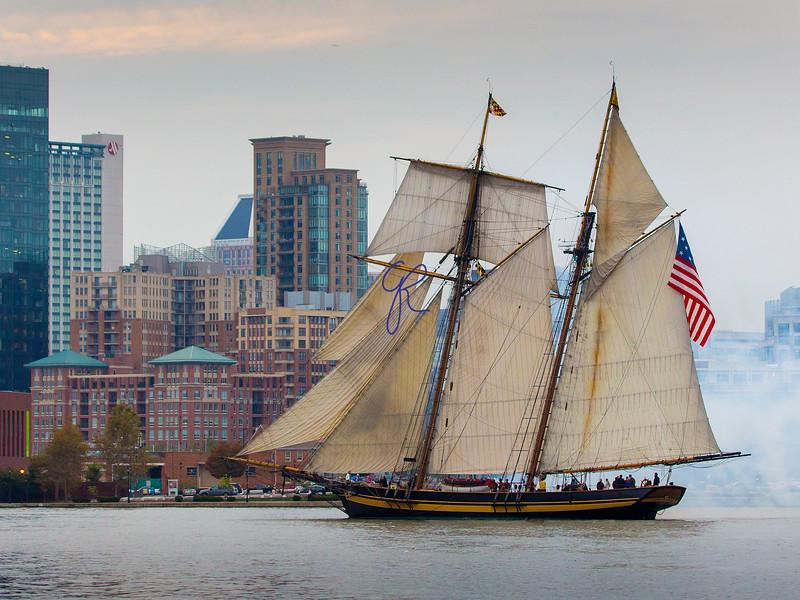 Pride of Baltimore Parade of Sail