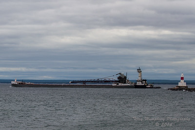 James L. Kuber Leaving Marquette MI.