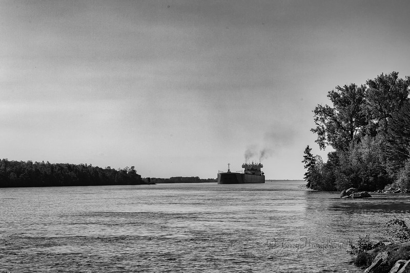 Edwin H. Gott in the St. Mary's River