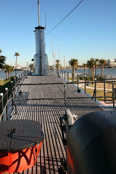 Deck, USS Cavalla
