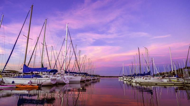 Pink Sky Marina