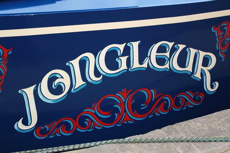 Boat Signwriting 1