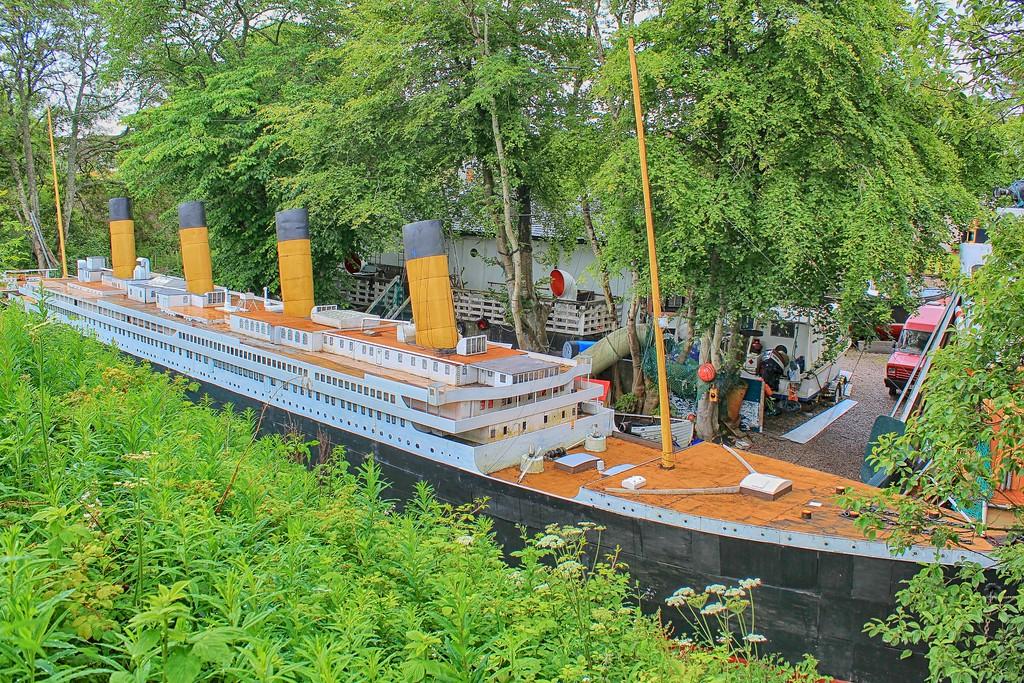 Model Titanic – Muirtown Basin. Inverness 2
