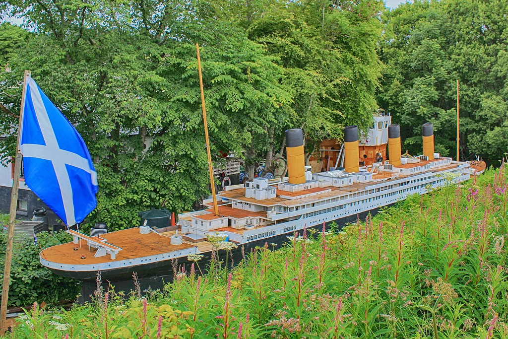 Model Titanic – Muirtown Basin. Inverness 1