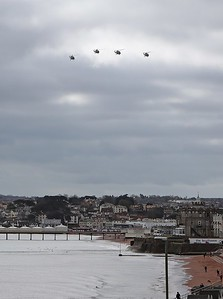 Lynx Farewell Flight over Paignton (1)