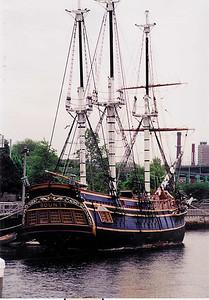 HMS Bounty in Fall River MA