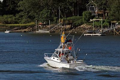 Pulling in to Portsmouth, NH