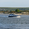 returning home in the evening after a cruise around studland bay