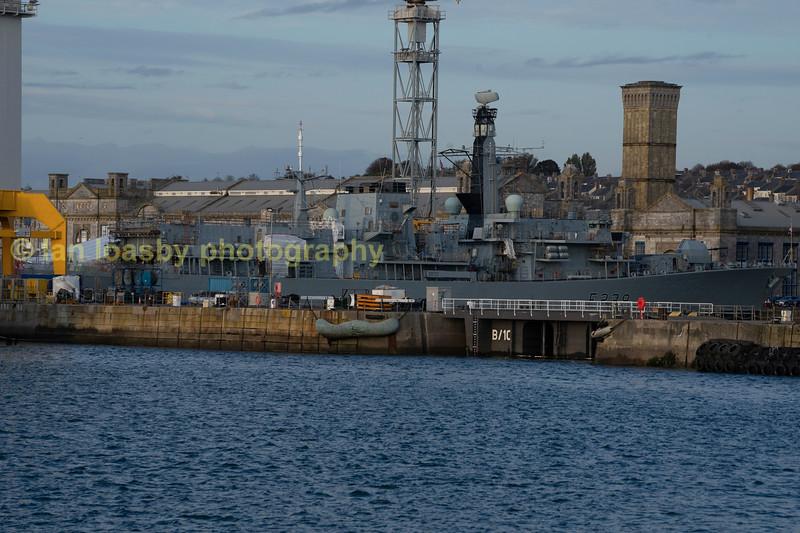 Type 23 Frigate HMS Richmond