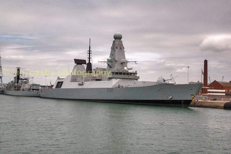HMS Daring  type 42 destroyer