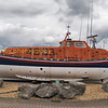 RNLB Ruby Arthur Reed;   preserved and displayed at Hythe marina on the solent.  She is an Oakley class lifeboat built at a cost of £60,000. at the Littlehampton boat yard of William Osbourne. She  was launched in 1966 and spent her entire service as Cromers life boat being retired in September 1984.