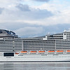 MSC Virtuo with a 19:00 hrs evening departure from Southampton.