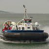 Hovercraft coming ashore at Lee-on - Solent
